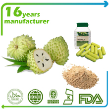 Factory supply 100%Natural Guanabana Fruit Powder Graviola Soursop Extract