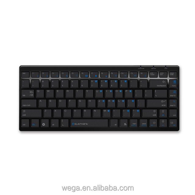 OEM ergonomic design no number pad basic super slim mini office tablet USB wire wired combo keyboard