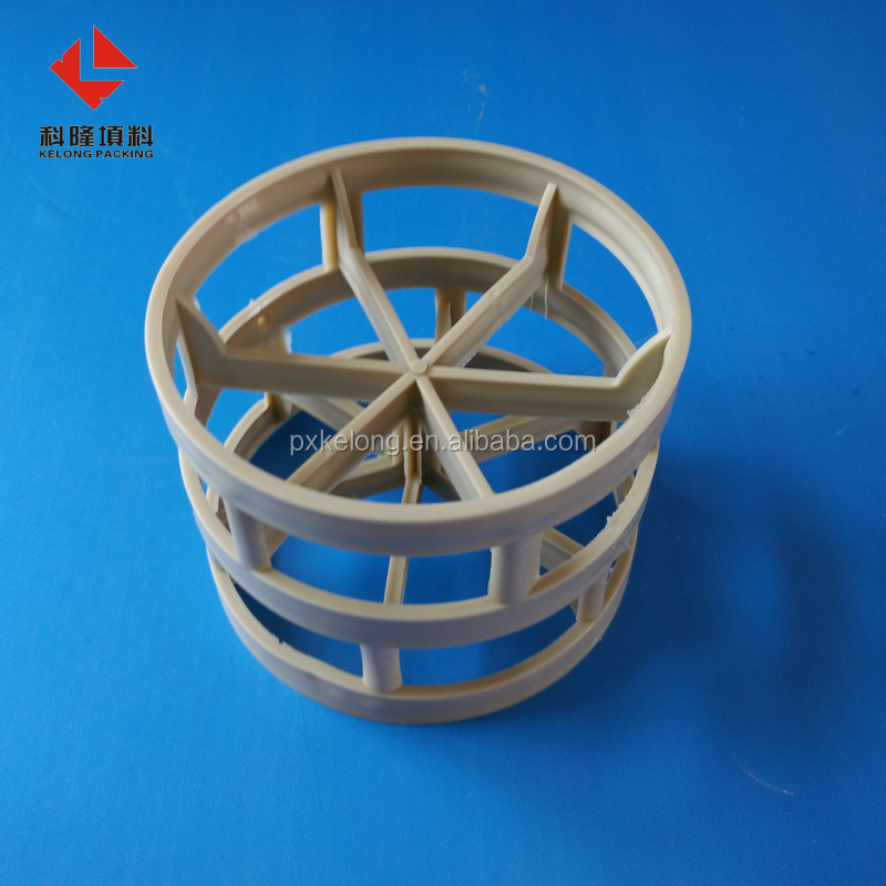 Absorption Tower Packings PPH Plastic Pall Rings
