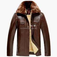 brand name fashion leather jackets for men