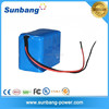 Factory price 12v 10ah 18650 lithium ion battery pack 12v li-ion battery