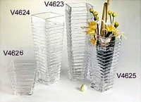 for flower arrangements square clear glass vase