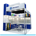Detian offer 10x10 expo booth stand exhibition display panel from SHANGHAI