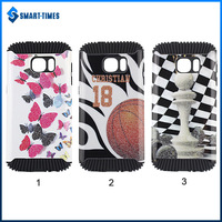 [Smart Times] Hedgehog Design Glitter Shockproof 2 in 1 TPU+PC Combo Case For Sasmsung Galaxy S7