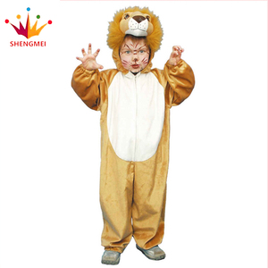Baby Girls And Boys Funny Lion Cosplay Costume Ideas