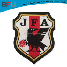 Japanese soccer club patch iron on woven patch for jersey