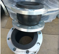 Shipping Flanged Galvanized Limited Rod Rubber Expansion Joint