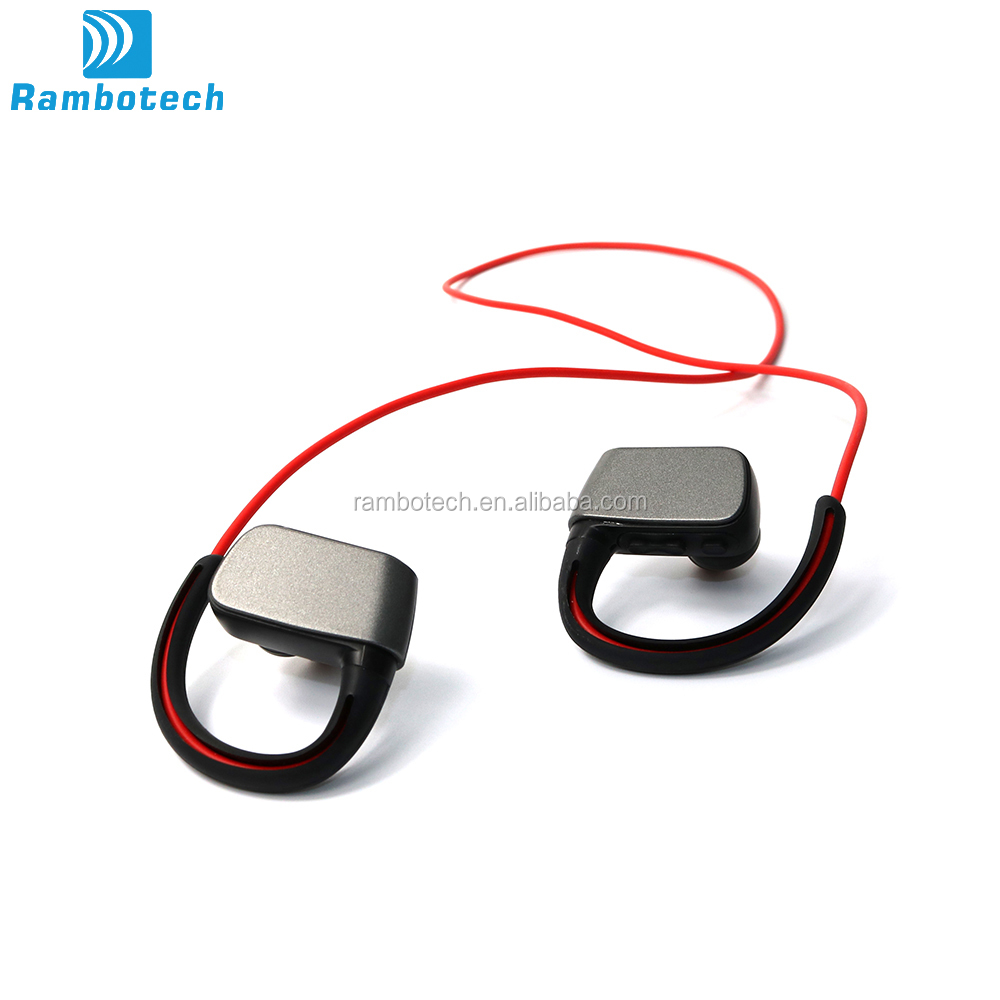 The Universal Bluetooth Earphone RN2 Stereo Wireless With Ear-hook Style For Runing And Swimming.