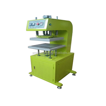 Double Heating Plate Heat Press Machine