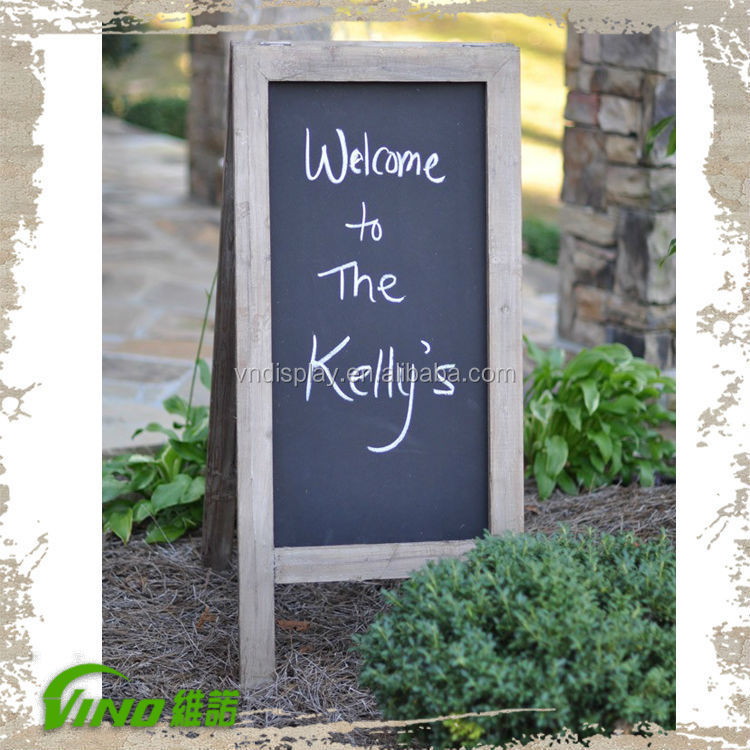 Rust wooden Frame Chalkboards For Wedding