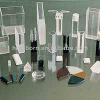 lab colormetric UV quartz glass cuvette