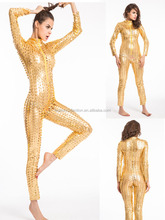 Sexy Lady Fashion Stage costumes hollow jumpsuits lingerie Women's Fancy Dress