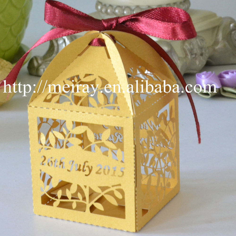 leaves Indian Wedding Favor BagsIndian Wedding Gifts For Guests