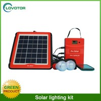 LED lighting system use solar energy for indoor outdoor USB charger