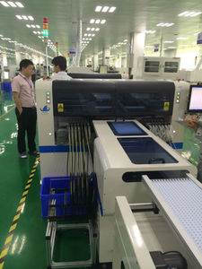 led lamp manufacturing machinery Assemble Line model HT-E8-1200/smt pick and place machine