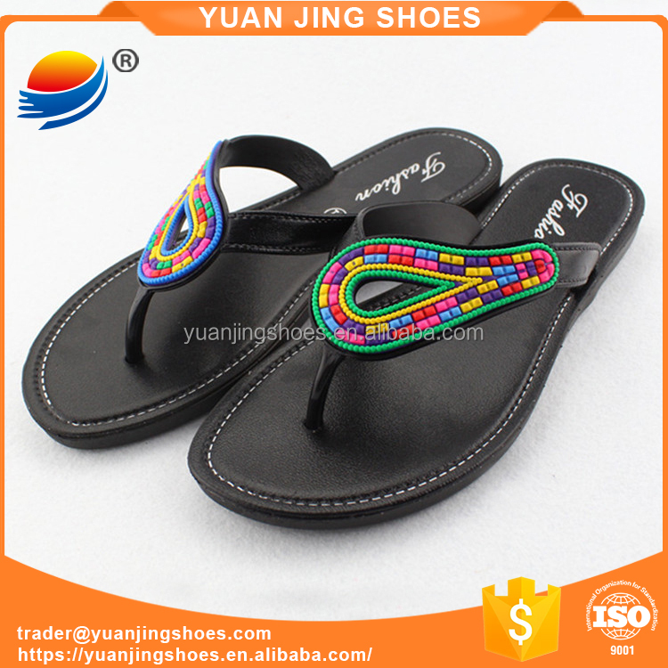 Hot Sell PVC Flip Flop Slippers Shoes For Women 1J523+11W