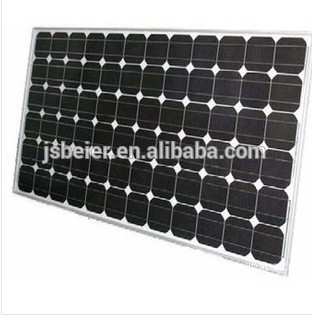 130W Monocrystalline Solar Panel Module From China Manufacturer for led street light, ground and roof PV system