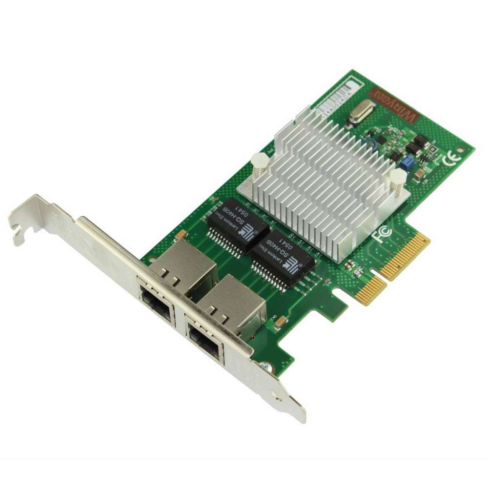 Winyao WY580-T2 Dual port PCI-e X4 Server Adapter-intel 82580(I340T2,E1G42HT)Network Card
