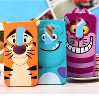 Cute animal shaped mobile phone case for lg g2