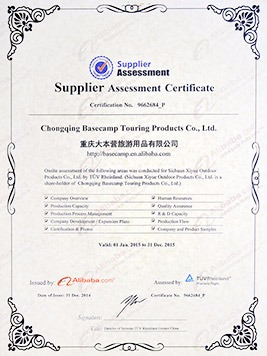 Supplier assessment 2014