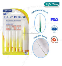 color changed 6pcs interdental brush