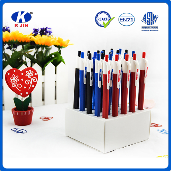 hot sale plastic cheap promotional ball point pen with oem