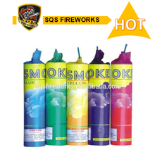 Daytime pyrotecnicas hot sale color smoke bomb fireworks