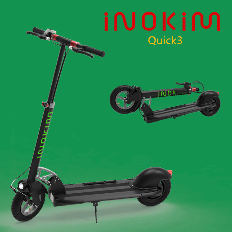 Strong powerful and sturdy fastest electric scooter with rear 400w hub motor 30km per hour