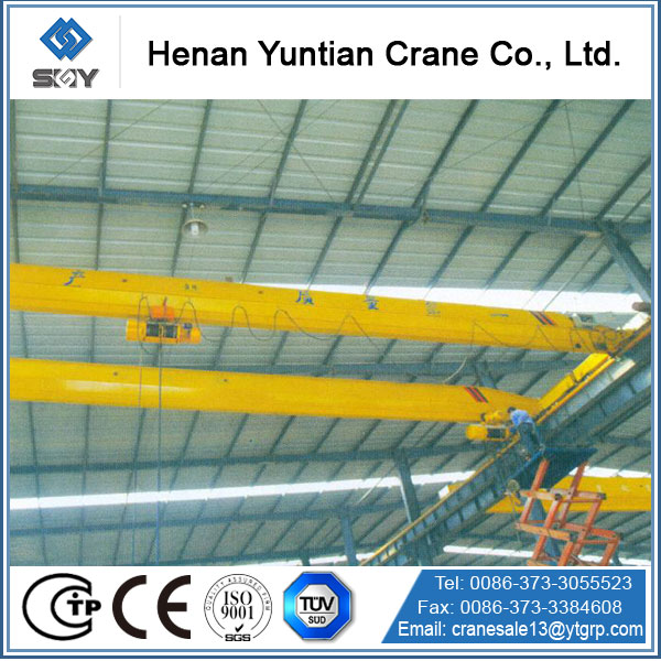 High Quality Single Beam Hanger Bridge Crane 10 Ton For Sale