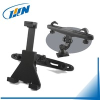 #070BR(B)#Universal Car Back Seat Headrest Mount Holder Stand Bracket Kit for iPad Mini 4 3 2 1 for SAMSUNG Tablet GPS DVD