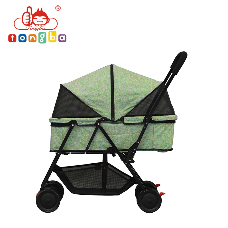 China Wholesale Steel Frame Dog Trolley For Large Dogs