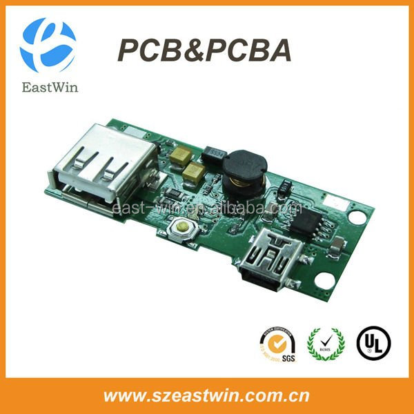 Shenzhen solar power bank pcb assembly pcba manufacturer