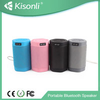 Portable MP3 Bluetooth Speaker/MP3 Player With Speaker With LED Light