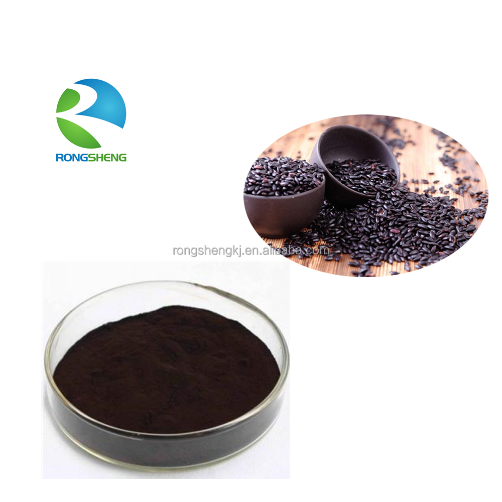 High Quality Organic Anthocyanin Black <strong>Rice</strong> Extract