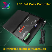 Hot selling Max 2048 points T-1000S sd card led light matrix controller software for led programmable edit controller