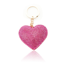 Heart Keychain /PU Animal Fruit Key Holder /Metal Key Ring For Promotional Gifts