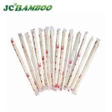 35g or 60g paper chopsticks, of green and white round bamboo, 20cm disposable bamboo chopsticks