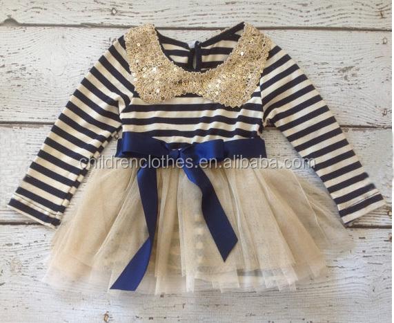 Cheap Boutique Christmas Dress For Children Girl Clothes Autumn Winter Children Dress