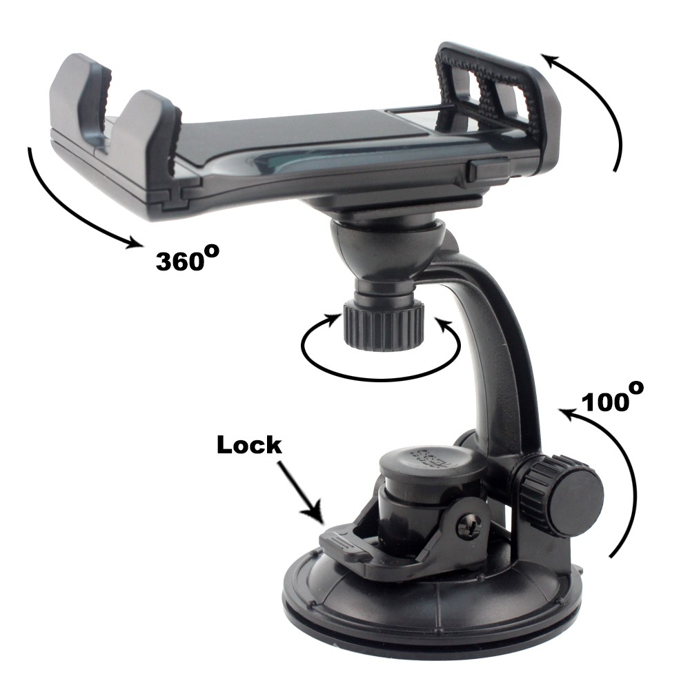 2 in 1 Tablet holder suit on car windshield 360 degree rotation,air vent holder for tablet
