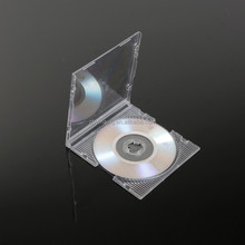 Slim Clear Storage PP CD Jewel Case weight CD Case