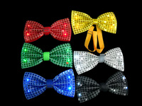 2014 World Cup promotional cheap LED bow tie