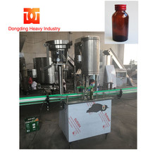 hot sale cap slitting machine flip top cap closing machine applied in different kinds of bottles