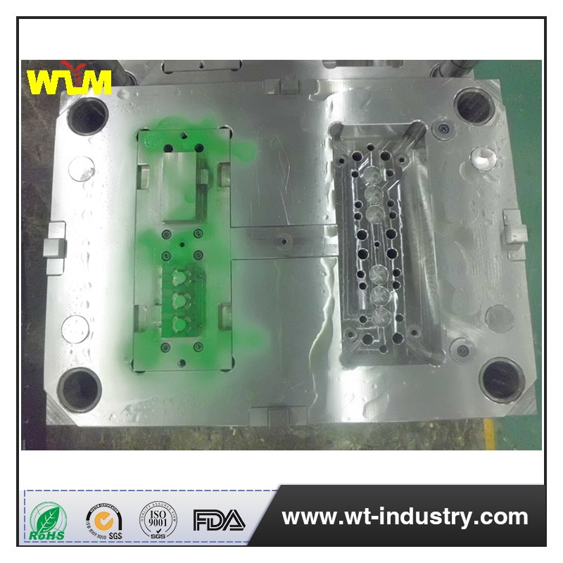 plastic injection mould for ads cover,family mould cavity
