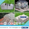 OBON lightweight roofing materials of roof tile sandwich panel