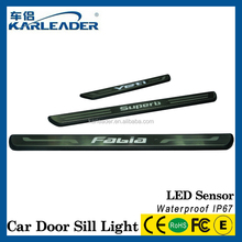 2015 for volkswagen auto LED light running boards,car pedal with LED light