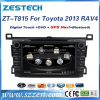 For toyota rav4 2013 car accessories bluetooth car radio with DVD/Radio/GPS/Bluetooth/3G/SD/USB/SWC