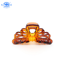 Custom logo tortoise large plastic hair claws