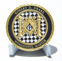 Best Quality Custom Masonic Coins Cheap Custom Masonic Challenge Coins