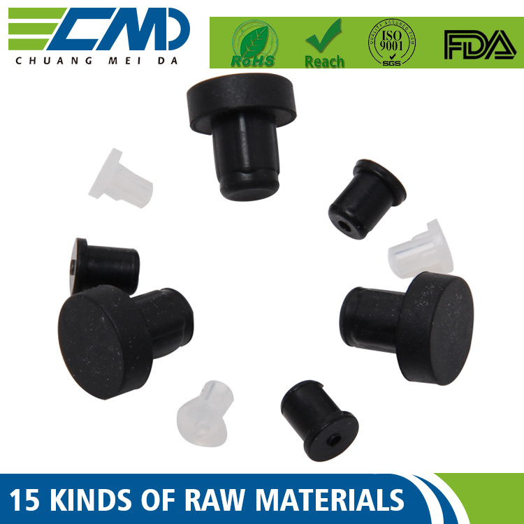 Odm / Oem Viton,Epdm,Nbr,Silicon Black And White Rubber Feet