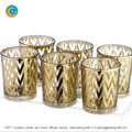 TOP1 new design yufeng laser engraving glass candle holder factory yufengcraft www.yufengcraft.cn